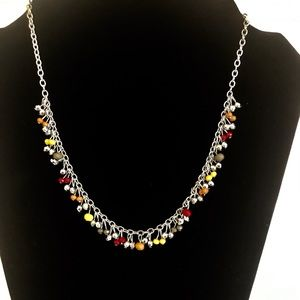 Multi-Color Necklace w/ Matching Earrings